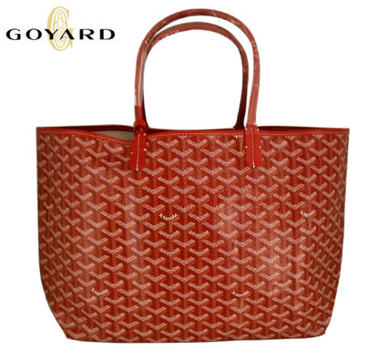 GOYARD / Goyard Saint Louis tote bag red PM