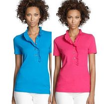 Tory Burch Casual Style Plain Cotton Short Sleeves Shirts & Blouses