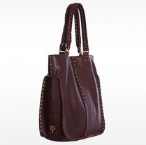 Linea Pelle A4 Plain Leather Handbags