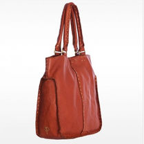 Linea Pelle Casual Style A4 Plain Leather Handbags