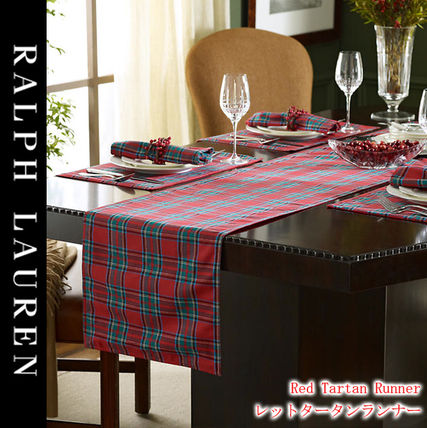 Ralph Lauren letter than table runner