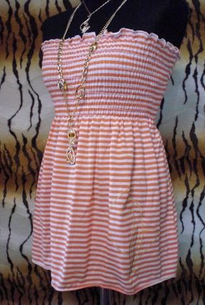 Stripes Cotton Medium Tanks & Camisoles