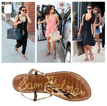 Sam Edelman Leopard Patterns Casual Style Spawn Skin Sandals Sandal