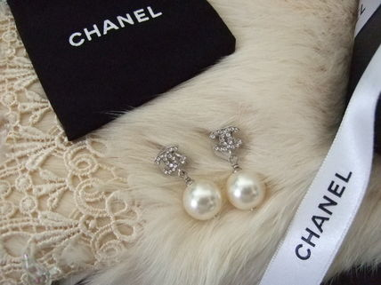 CHANEL Earrings Party Style Earrings