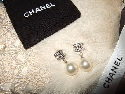 CHANEL Earrings Party Style Earrings 2