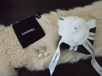CHANEL Earrings Party Style Earrings 3