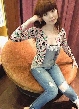 Flower Patterns Cardigans