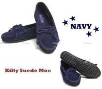 Minnetonka Moccasin Suede Slip-On Shoes
