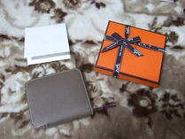 HERMES Silk In Leather Accessories