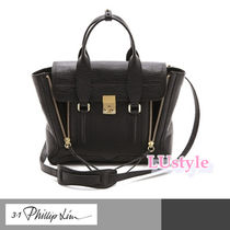 3.1 Phillip Lim Calfskin A4 2WAY Plain Office Style Handbags
