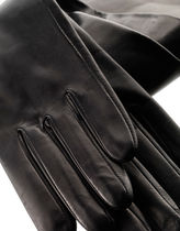 Sermoneta gloves Silk Plain Gloves Gloves