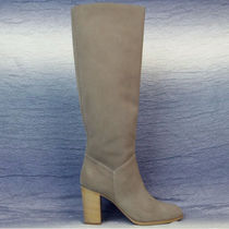 CHANEL Suede Over-the-Knee Boots