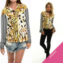 One Teaspoon Stripes Leopard Patterns Shirts & Blouses