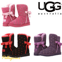 UGG Australia MINI BAILEY BUTTON Petit Kids Girl Boots