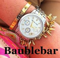 Baublebar Costume Jewelry Initial Street Style Collaboration Bracelets