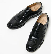 Church's Round Toe Lace-up Leather Shoes