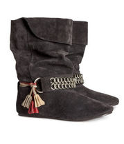H&M Tassel Collaboration Ankle & Booties Boots