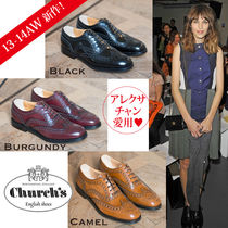 Church's Burwood Plain Leather Pointed Toe Shoes