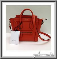 CELINE Luggage Shoulder Bags