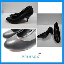 Primark Round Toe Block Heels Office Style Block Heel Pumps & Mules