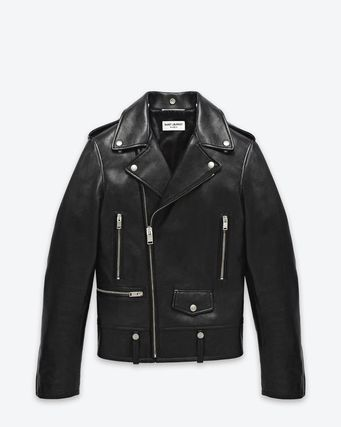 44 size Paris Leather Riders jacket