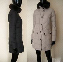 DUVETICA Fur Down Jackets