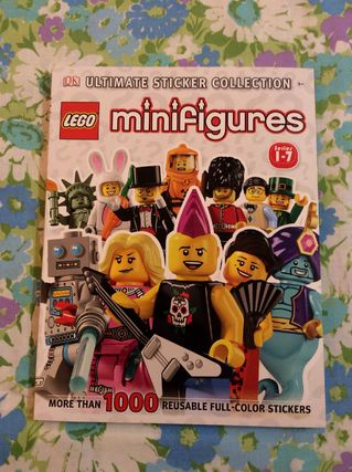 LEGO amergengminifigure sticker book