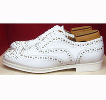 Church's Round Toe Studded Leather Shoes