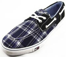 Tommy Hilfiger Tartan Street Style Deck Shoes Loafers & Slip-ons
