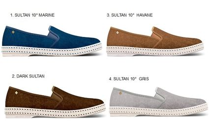 Suede Loafers & Slip-ons