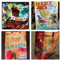 Trader Joe's Nylon Street Style A4 Special Edition Shoppers