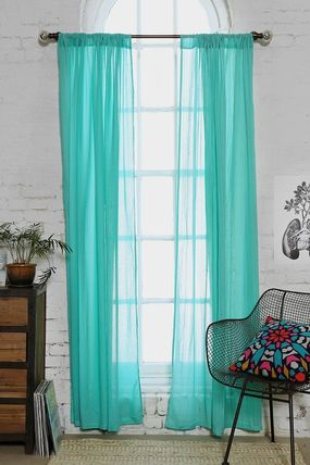 Urban Outfitters gauze material nuances curtains