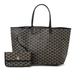 Goyard Saint Louis tote St. Louis PM black/black