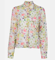 MSGM Flower Patterns Street Style Long Sleeves Medium