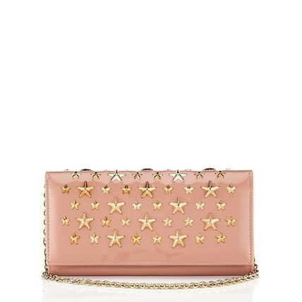 Nikita chain wallet Blush