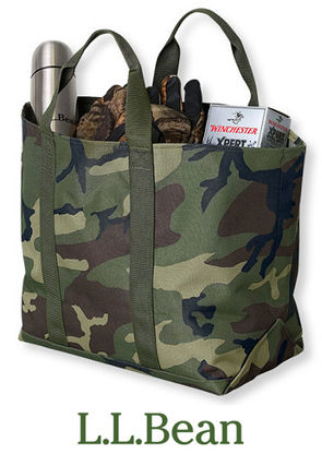 Camouflage Casual Style Unisex Totes