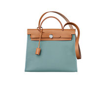 HERMES Herbag in ciel & Naturelle Vache shoulder bag