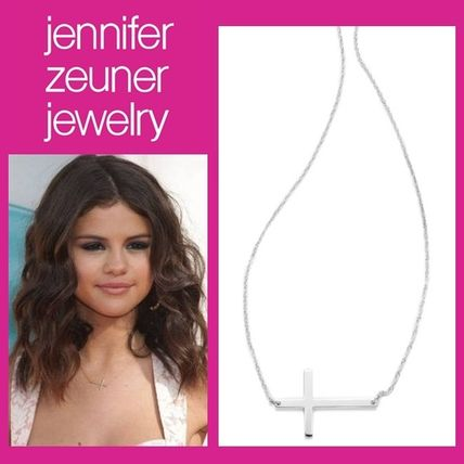 Cross Chain Party Style Silver Necklaces & Pendants