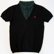 FRED PERRY Street Style Cotton Short Sleeves Polo Shirts