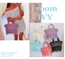 room IVY Straw Bags