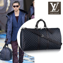 Louis Vuitton DAMIER Other Check Patterns Leather Long Wallets