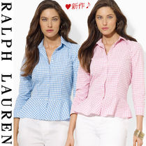 Ralph Lauren Tartan Other Check Patterns Cropped Cotton Medium