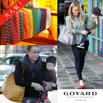 GOYARD Saint Louis Monogram Unisex Canvas Blended Fabrics Bag in Bag A4