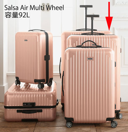 Rimowa ultra-light USA limited edition Pink Pearl roses 92L