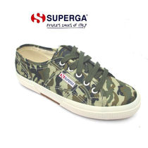 SUPERGA Camouflage Low-Top Sneakers