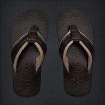 Abercrombie & Fitch Monogram Street Style Plain Leather Loafers & Slip-ons