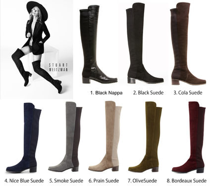 2014 RESERVE knee high boots