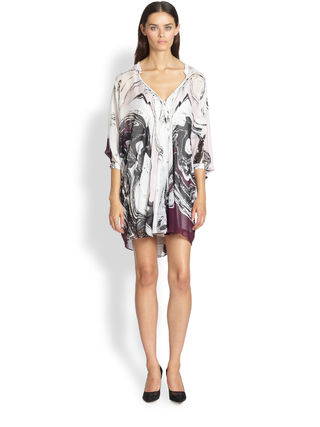 DVF Saks Fleurette Dress Spring March
