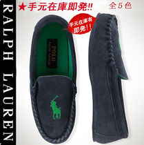Ralph Lauren Loafers Suede Plain Loafers & Slip-ons