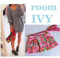 room IVY Tropical Patterns Casual Style Clutches